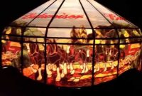 Budweiser Pool Table Pub Bar Beer Sign Light Hanging Lamp 2001 pertaining to measurements 1280 X 720
