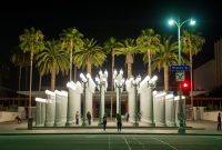 California Iconic Lamp Posts Photos Couple Photos At Los Angeles inside measurements 1700 X 1131