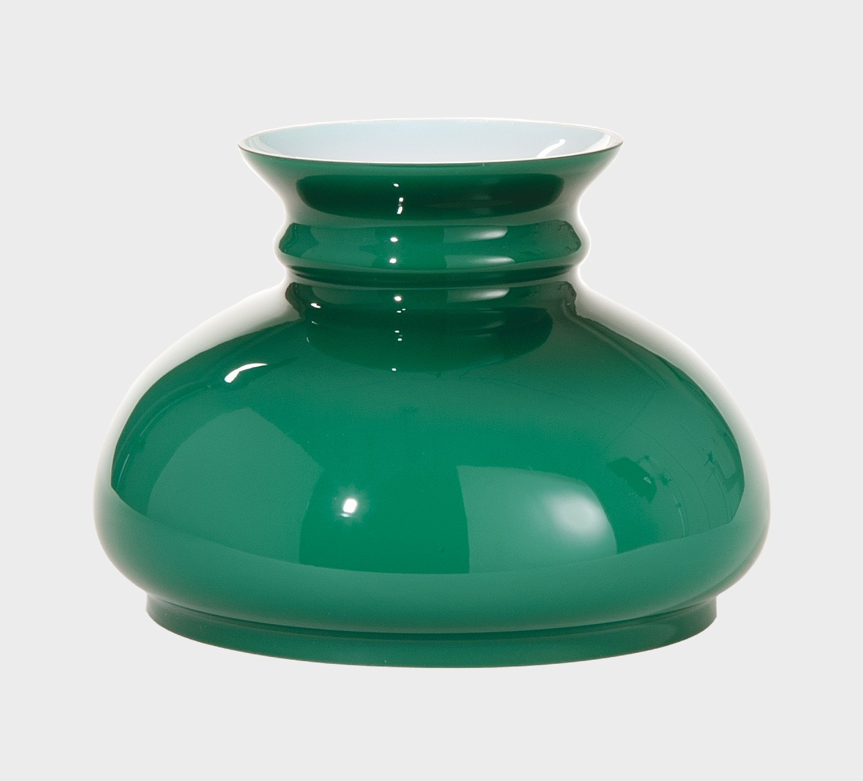 Cased Green Glass Shade 7 Inch Fitter Antique Lamp Supply inside proportions 1260 X 1140
