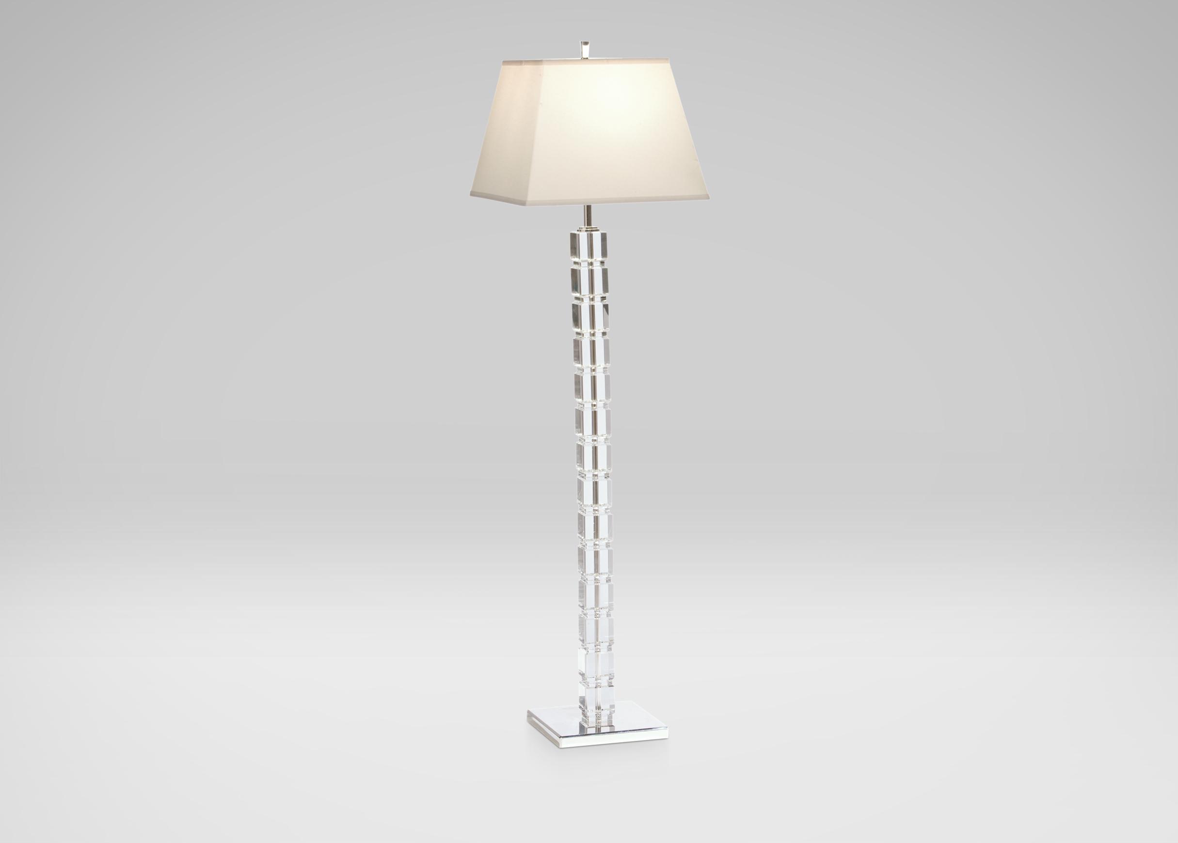 Crystal Blocks Floor Lamp Floor Lamps Ethan Allen with dimensions 2430 X 1740