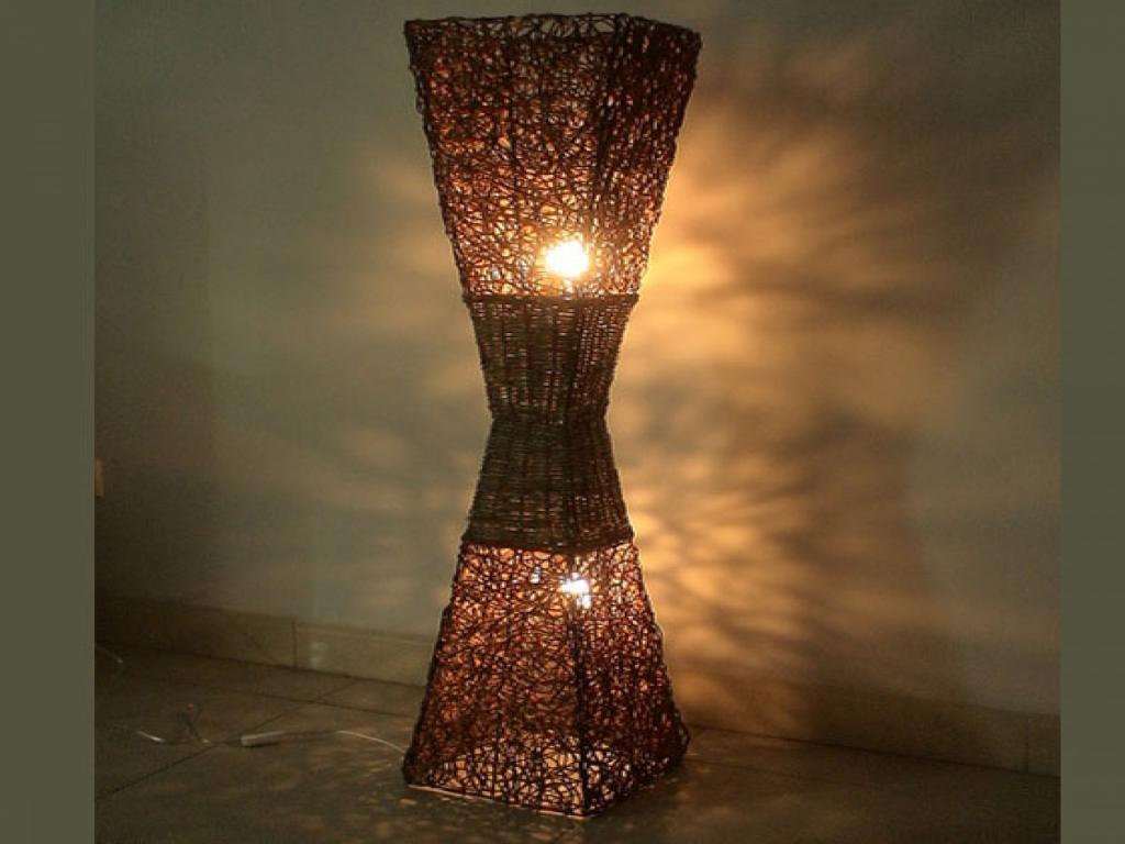 Outdoor Wicker Floor Lamp Lamp Ideas Site