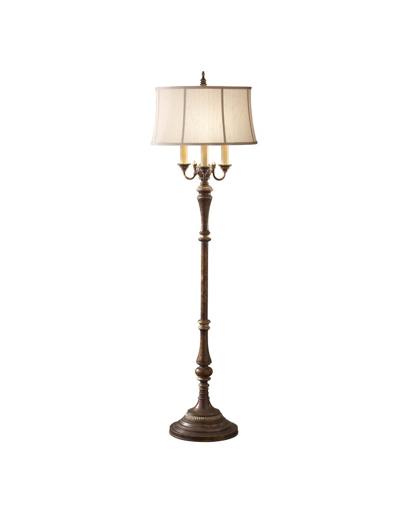 Feiss Gibson 4 Light Floor Lamp In Cambridge Crackle Finish With within measurements 800 X 1000