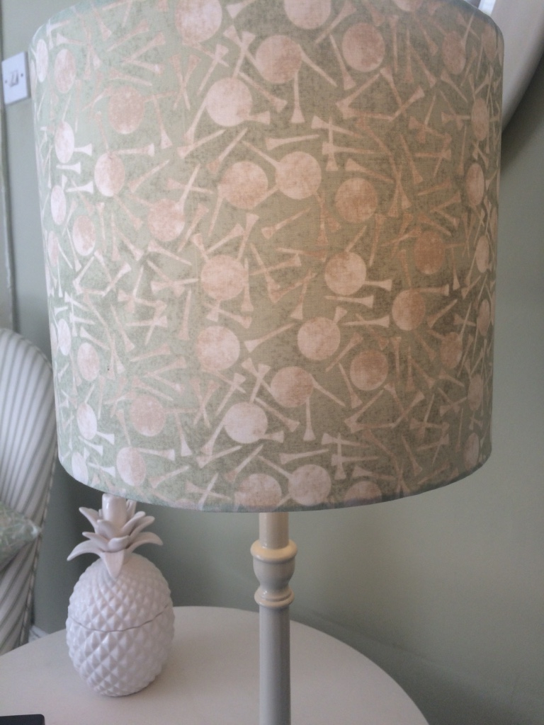 Golf Lampshade Golf Balls And Golf Tees Love Tuppence with regard to proportions 768 X 1024
