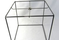 Great Square Lamp Shade Frame 71 With Additional Peacock Lamp with sizing 1500 X 1455