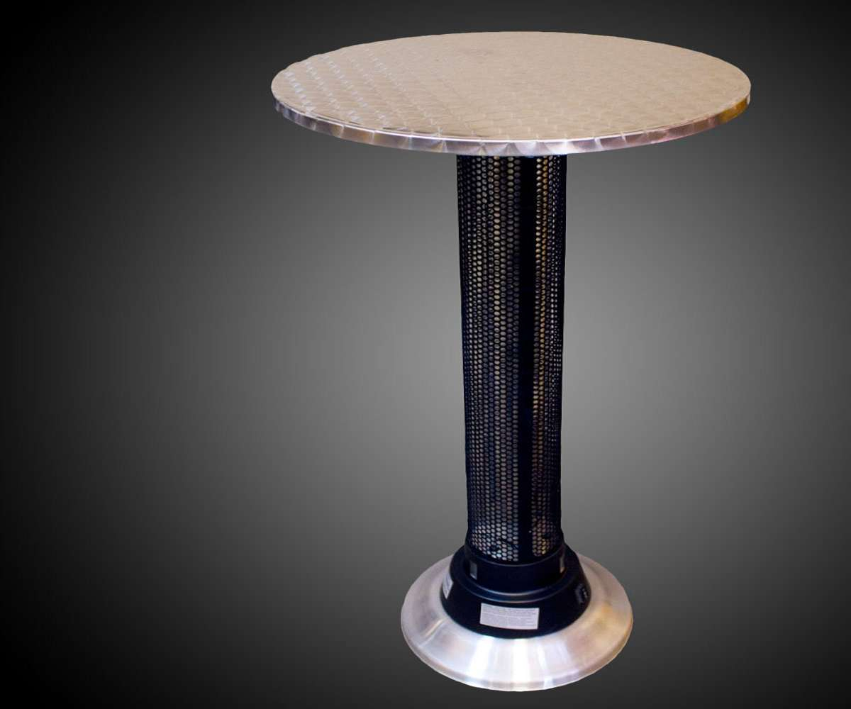 Indooroutdoor Heat Lamp Table Dudeiwantthat throughout proportions 1200 X 1000