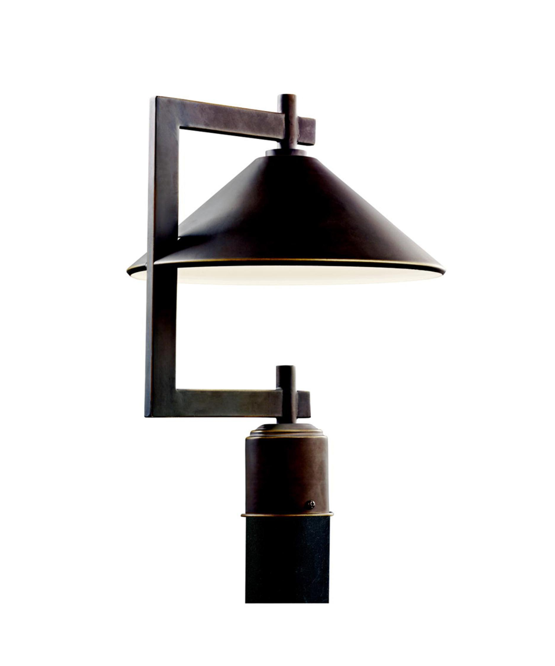 Kichler 49063 Ripley 12 Inch Wide 1 Light Outdoor Post Lamp regarding dimensions 1875 X 2250