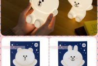 Korea Line Friends Hug Me Led Touch Lamp Home Furniture Home in dimensions 1080 X 1080