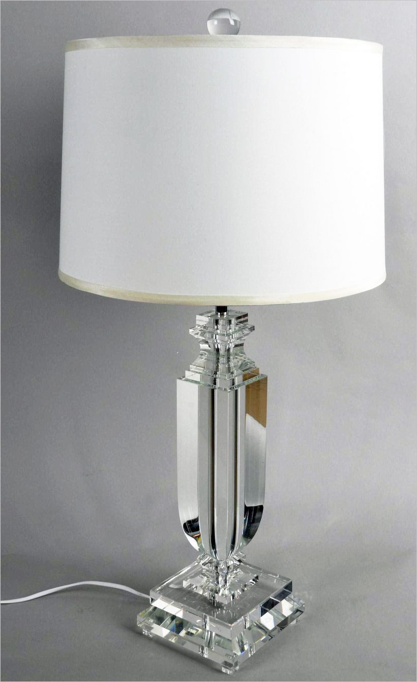 Lamp Crystal Table Lamps With Black Shade Cozy Black Lamp Shade intended for dimensions 820 X 1339