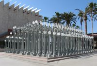 Lampposts Outside Lacma The 10 And The 110 pertaining to measurements 2272 X 1704