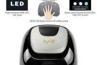 Melodysusie 48w Led Nail Dryer Lamp Quick Curing Gel Polish with size 1000 X 1000