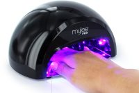 Mylee Pro Convex Technology Led Nail Curing Lamp Black Nails in measurements 1000 X 1000