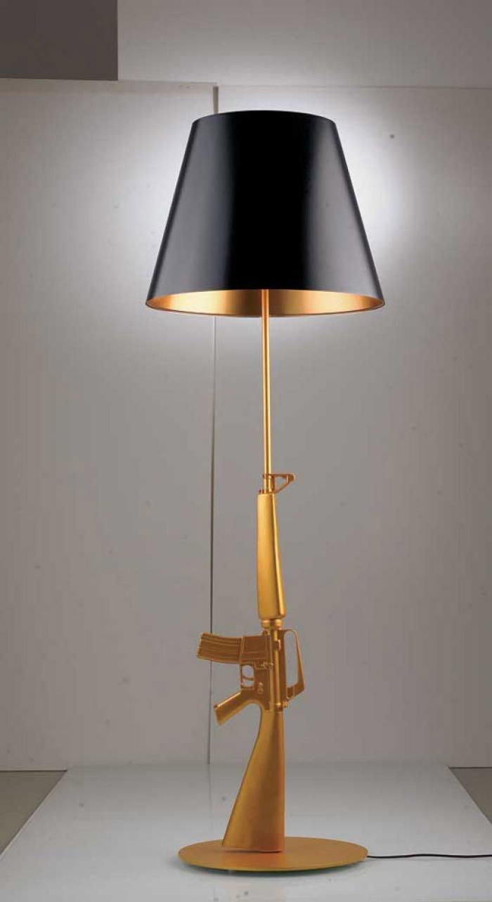 Replica Ak47 Assault Rifle Stand Up Floor Lamp I Cant Even regarding sizing 700 X 1282
