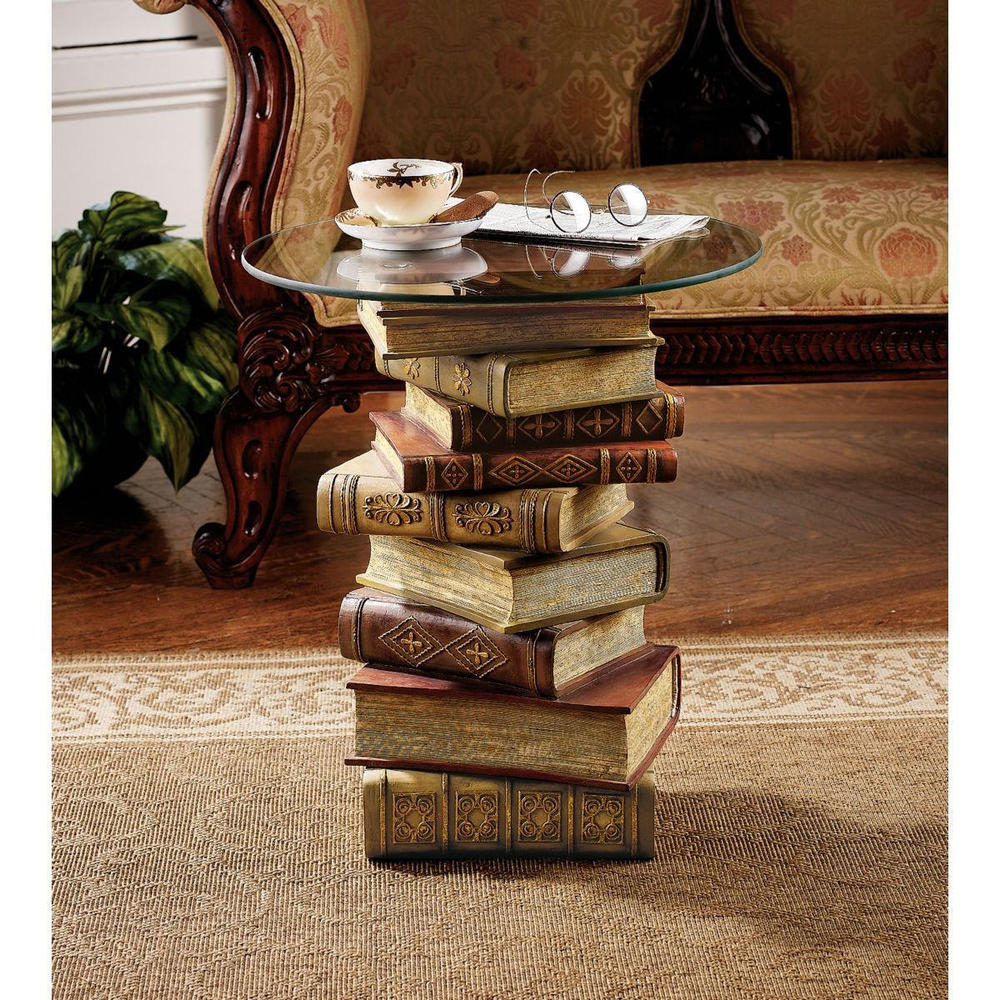 Stacked Book End Table The New Way Home Decor Tips To Redesign In Measurements 1000 X