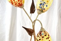 Table Lamp With 3 Murano Glass Lamp Shades throughout proportions 1429 X 2000