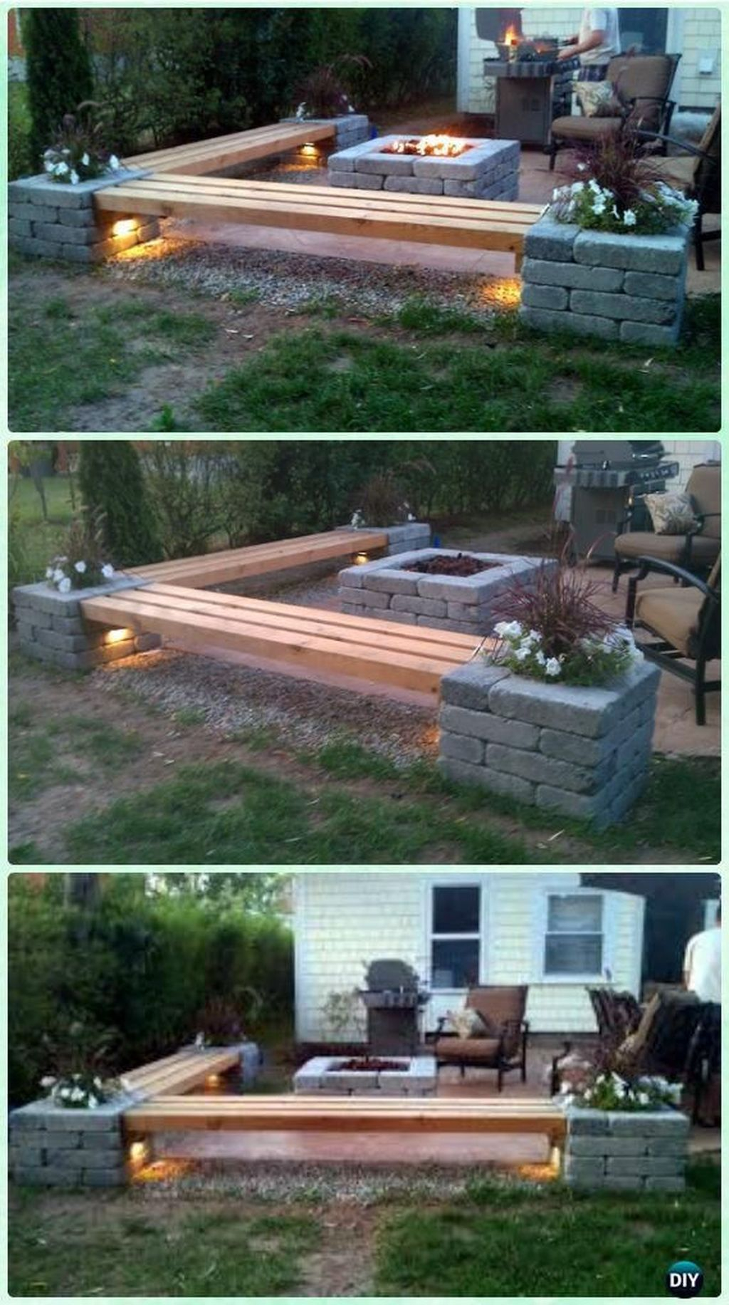 11 Magnificent Modern Fire Pit Fence Ideas In 2019 Diy intended for dimensions 1024 X 1832