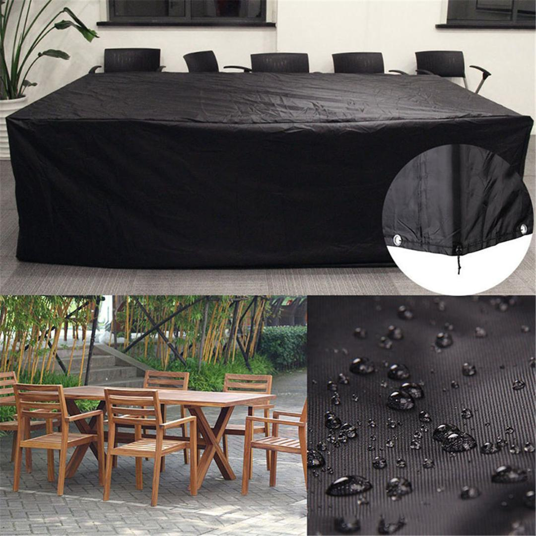 2019 Pvc Waterproof Outdoor Garden Patio Furniture Cover Dust Rain Snow Proof Table Chair Sofa Set Covers Household Accessories From Kingflower regarding size 1080 X 1080