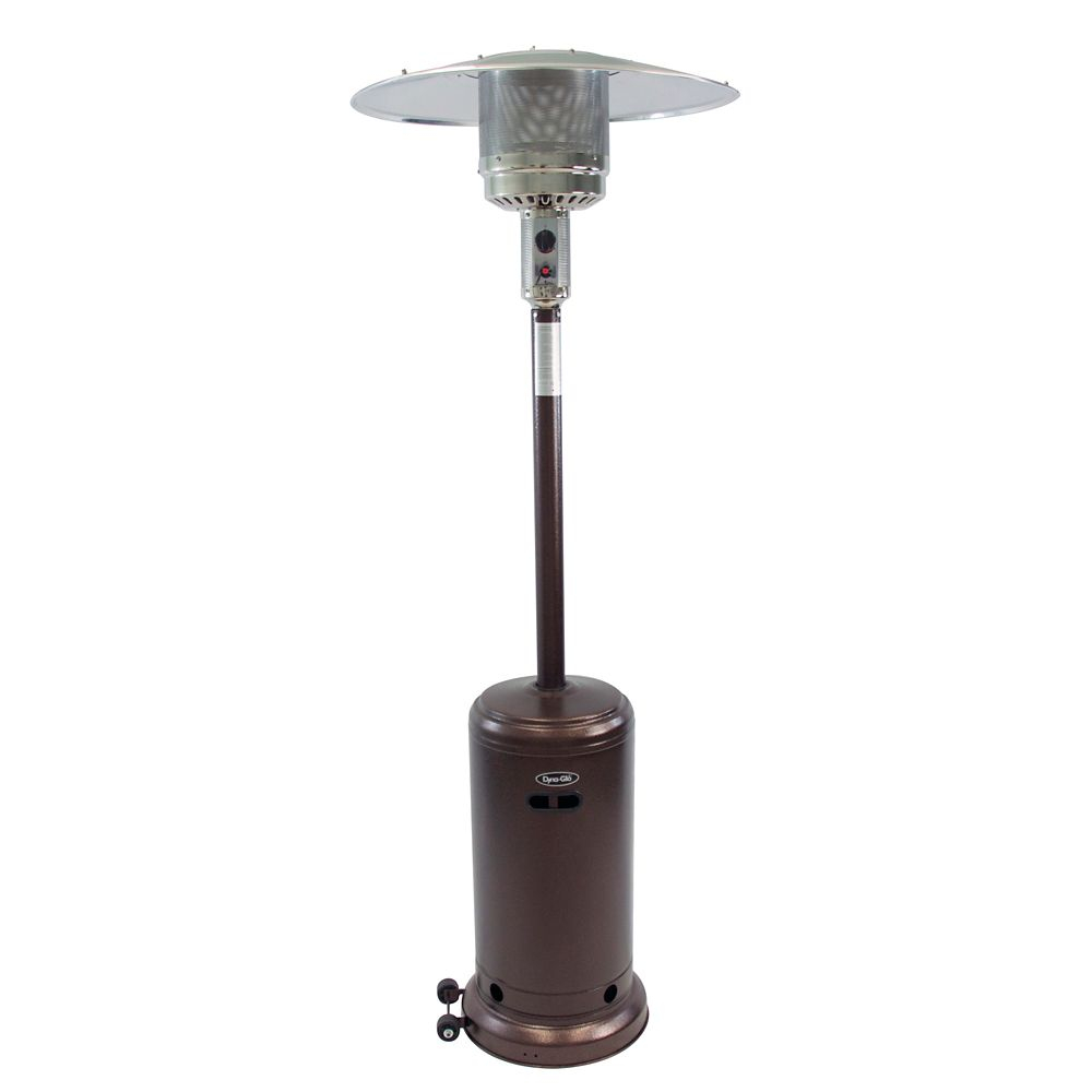 41000 Btu Patio Heater In Deluxe Hammered Bronze intended for size 1000 X 1000