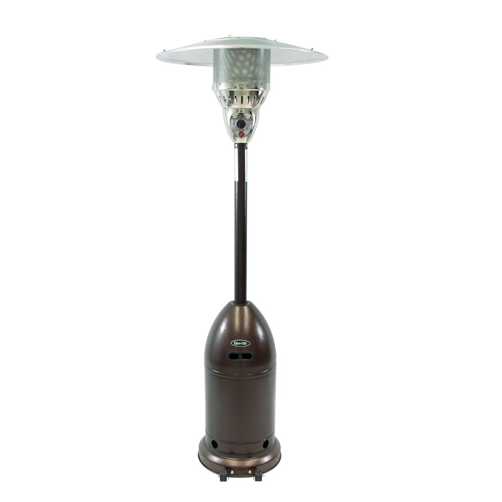 48000 Btu Patio Heater In Premium Hammered Bronze with regard to measurements 1000 X 1000