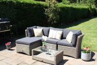 5pc High Back Modular Corner Sofa Rattan Furniture Set Natural Deco Alfresco throughout dimensions 1700 X 1369