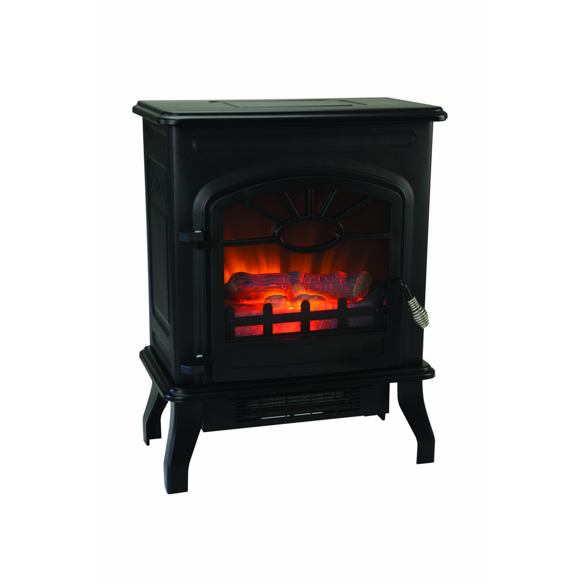 7501500 Watt Wood Stove Style Electric Heater Electric pertaining to measurements 1200 X 1200