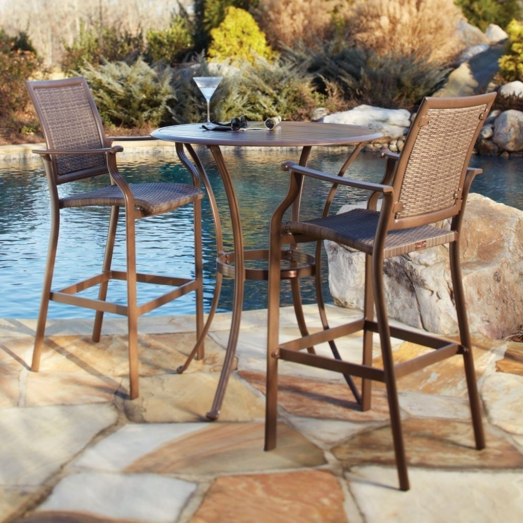98 Wicker Patio Furniture Bar Sets Outdoorhom in dimensions 1024 X 1024
