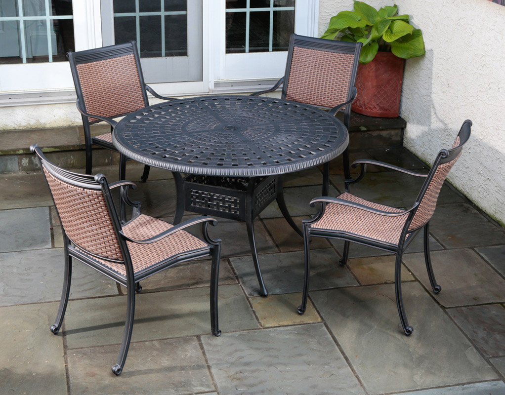 A Buyers Guide To Cast Aluminum Outdoor Furniture with regard to proportions 1022 X 800