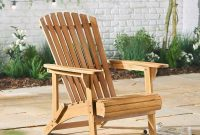 Adirondack Wooden Chair Outdoor Garden Patio Pool Balcony with dimensions 1000 X 1000