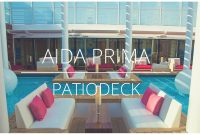 Aidaprima Patiodeck with dimensions 1280 X 720