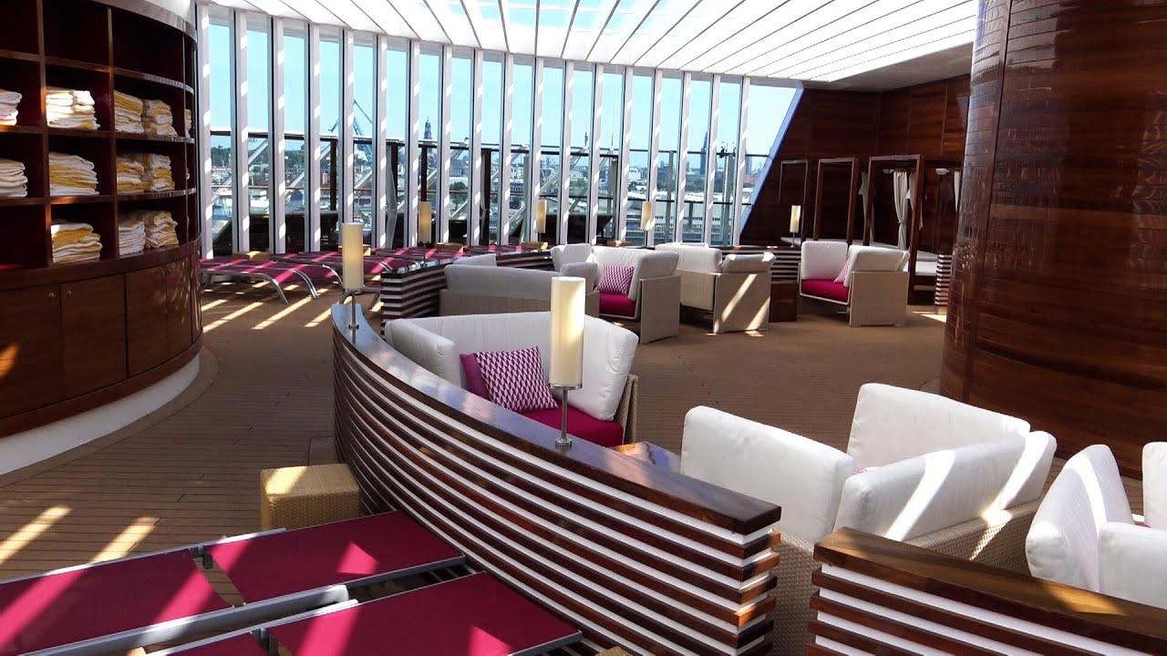 Aidaprima Rundgang Deck 16 Patiodeck Und Patio Bar Die Schnsten Pltze An Bord with regard to measurements 1280 X 720