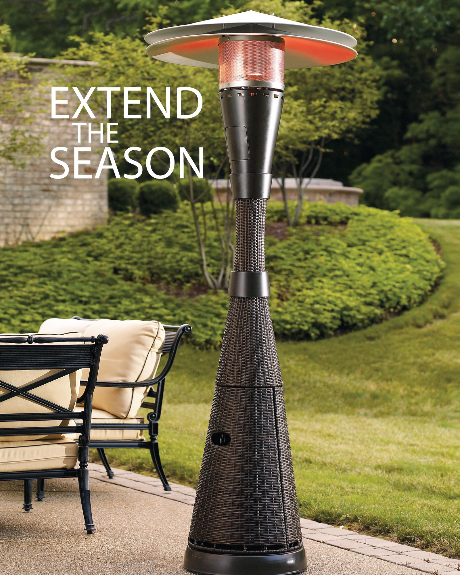 All Weather Woven Patio Heater Patio Heater Outdoor regarding measurements 1600 X 2000