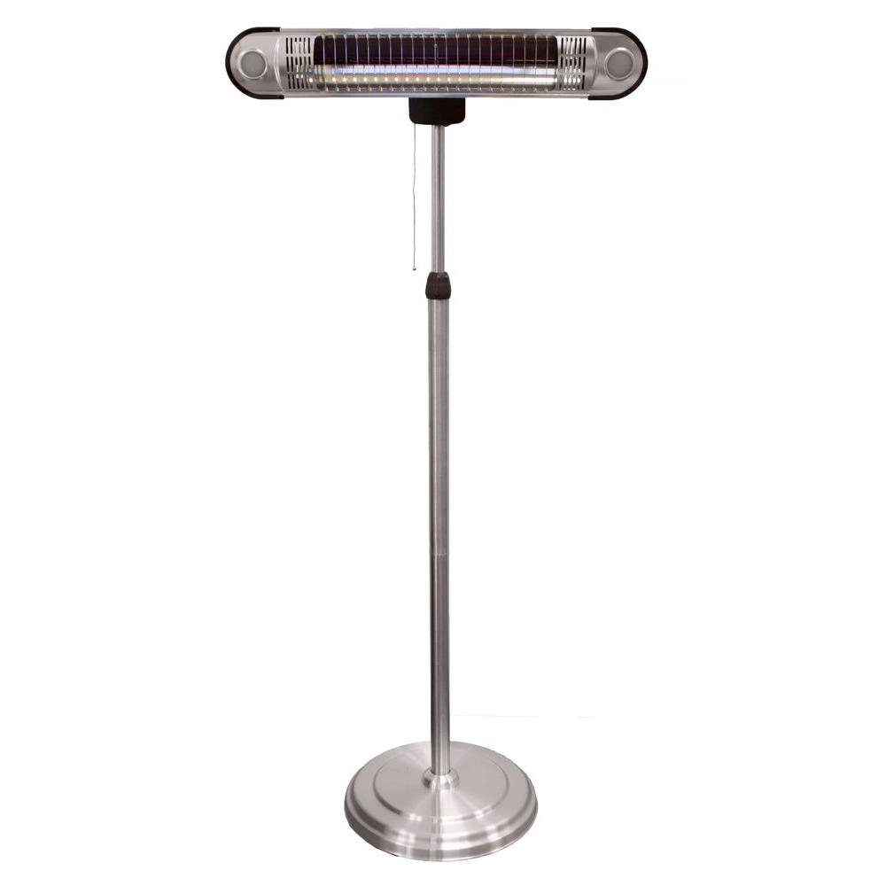 Az Patio Heaters 1500 Watt Adjustable Infrared Heat Lamp Electric Patio Heater inside measurements 1000 X 1000