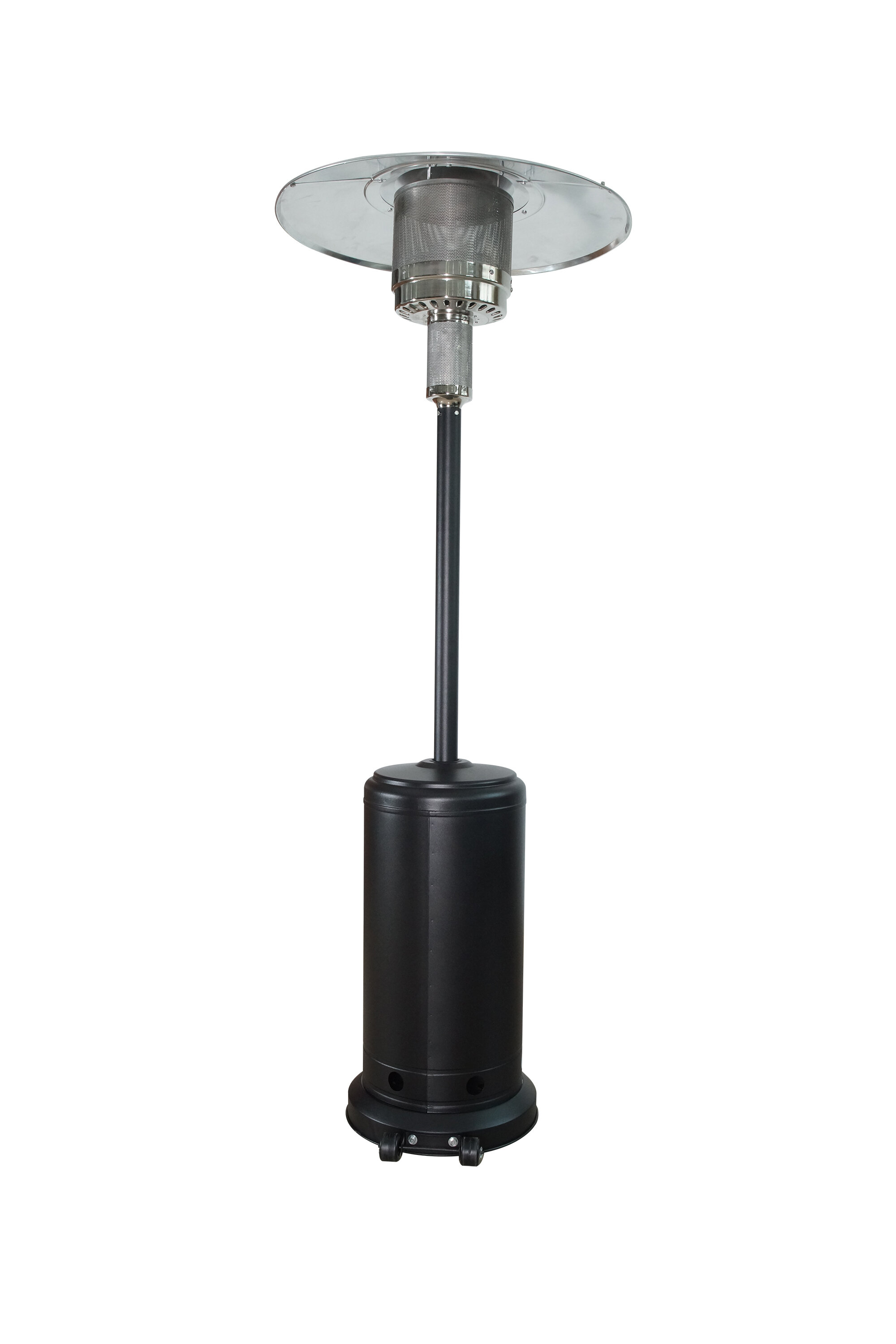Azure Sky 50000 Btu Propane Patio Heater With Cover within proportions 2000 X 3000