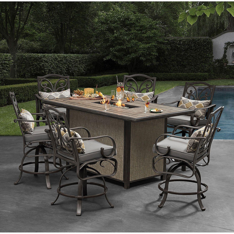 Bar Height Patio Furniture Sams Club Outdoor Furniture regarding measurements 1500 X 1500