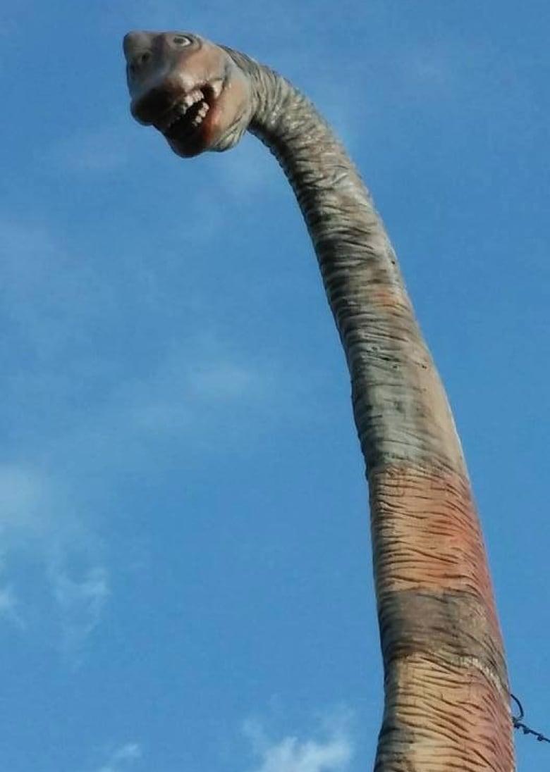 Dinosaurs Survive Fire At Flamborough Landmark On Highway 6 regarding proportions 780 X 1096