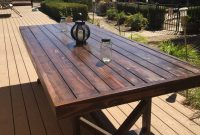 Diy Large Outdoor Dining Table Outdoor Wood Table Wooden regarding size 768 X 1024