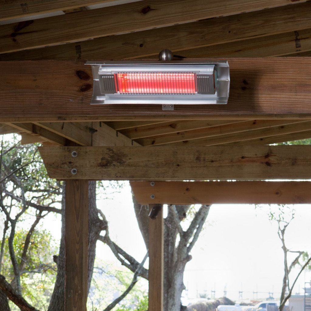 Fire Sense Stainless Steel Wall Mounted Infrared Patio in size 1024 X 1024