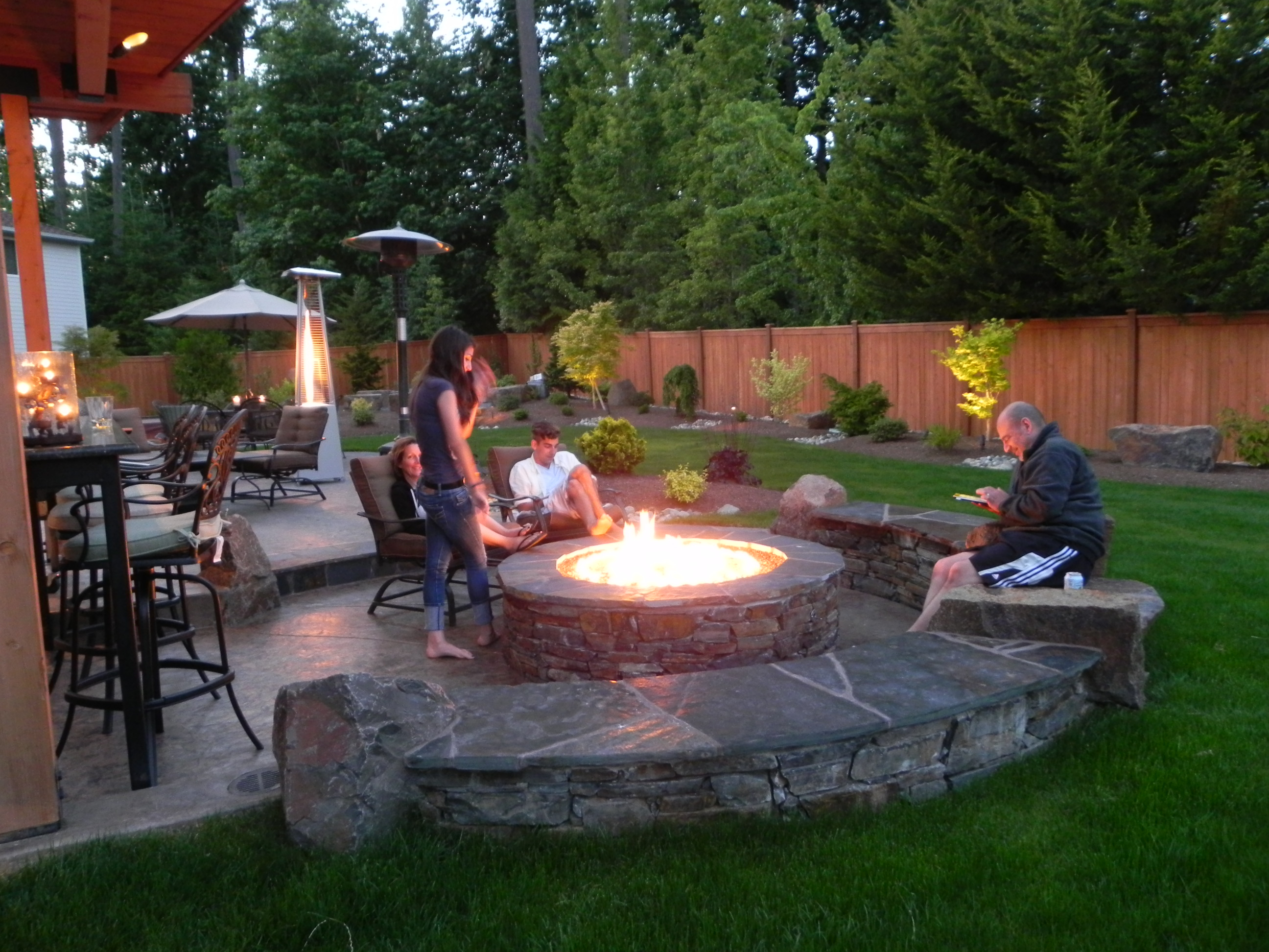 Firepit And Patio Designs Patio Ideas throughout measurements 2592 X 1944