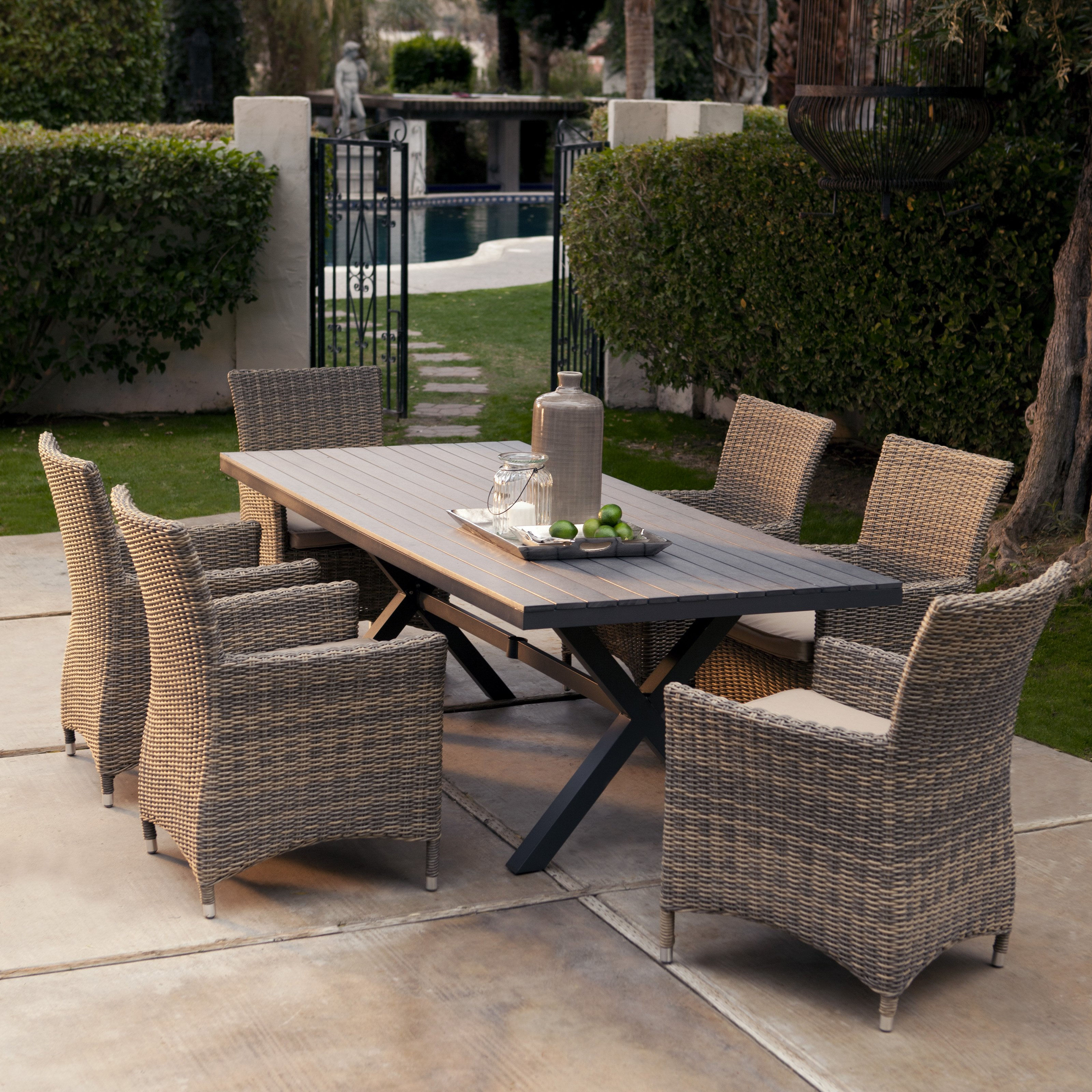Furniture Fabulous Outdoor Patio Resin Wicker Rattan within sizing 3200 X 3200