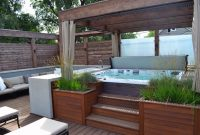 Gorgeous Decks And Patios With Hot Tubs Diy Deck Building regarding proportions 1280 X 853