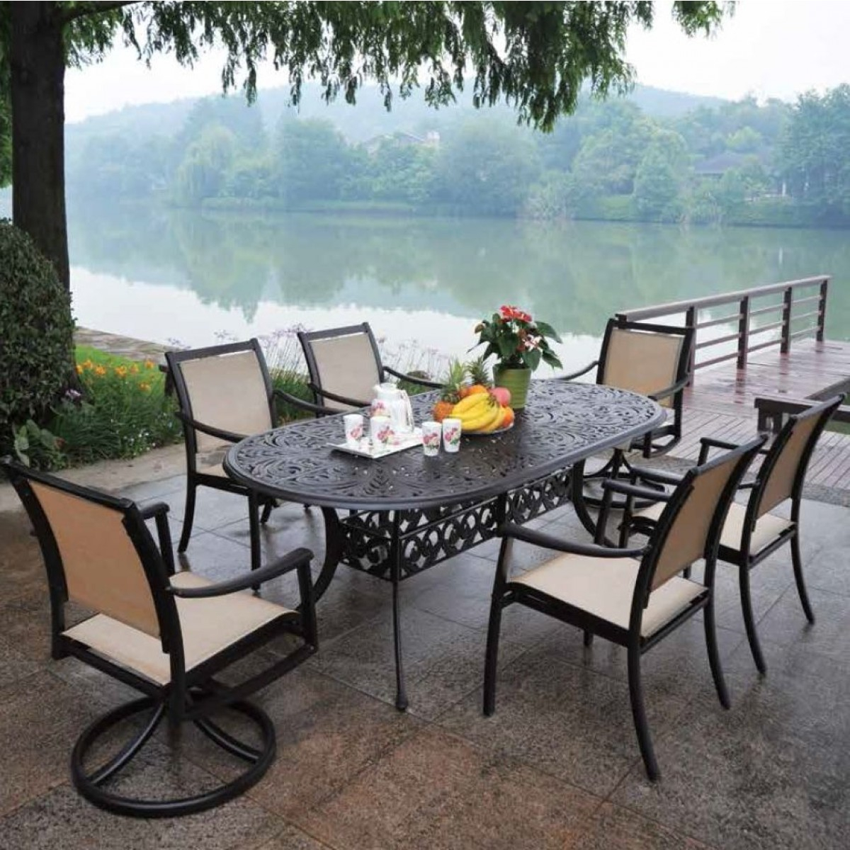 Hanamint Stratford Patio Outdoor Furniture More intended for measurements 1200 X 1200