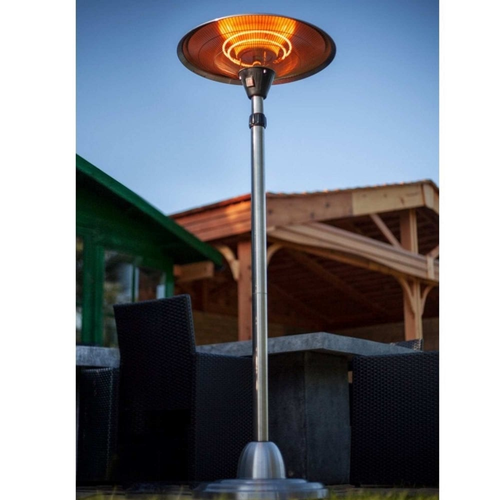 La Hacienda Adjustable Free Standing 2100w Halogen Patio Heater with size 1000 X 1000