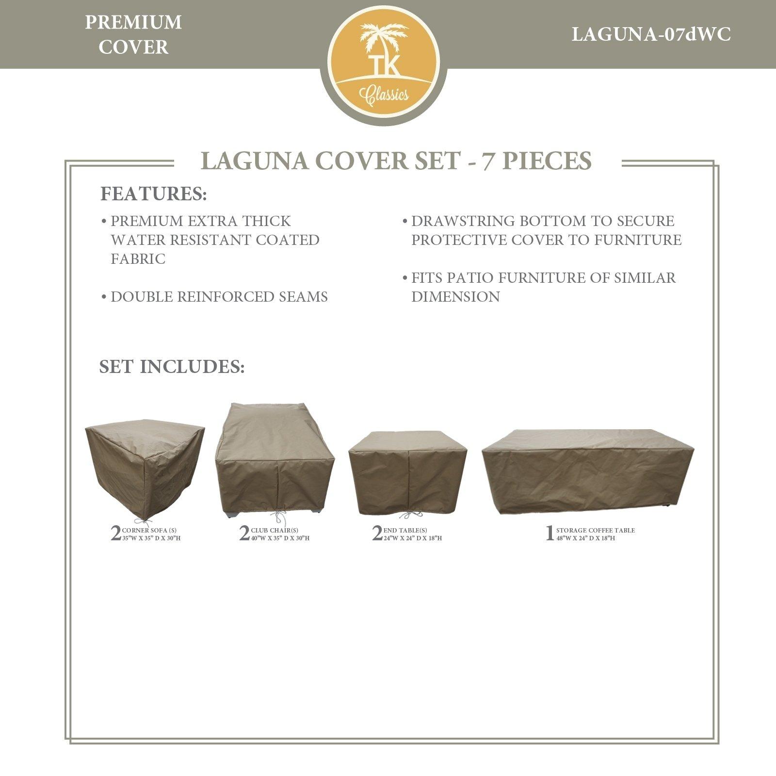Laguna 07d Protective Cover Set Tie Beige Tk Classics for dimensions 1600 X 1600