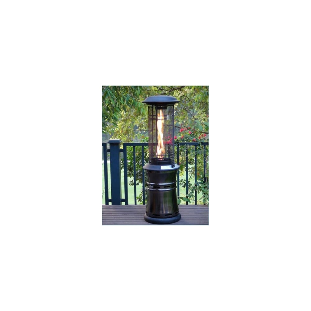 Lifestyle Lifestyle Santorini Inferno Flame Patio Heater regarding proportions 1000 X 1000