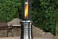 Lifestyle Santorini Flame Gas Patio Heater Gas Patio for proportions 1500 X 1418