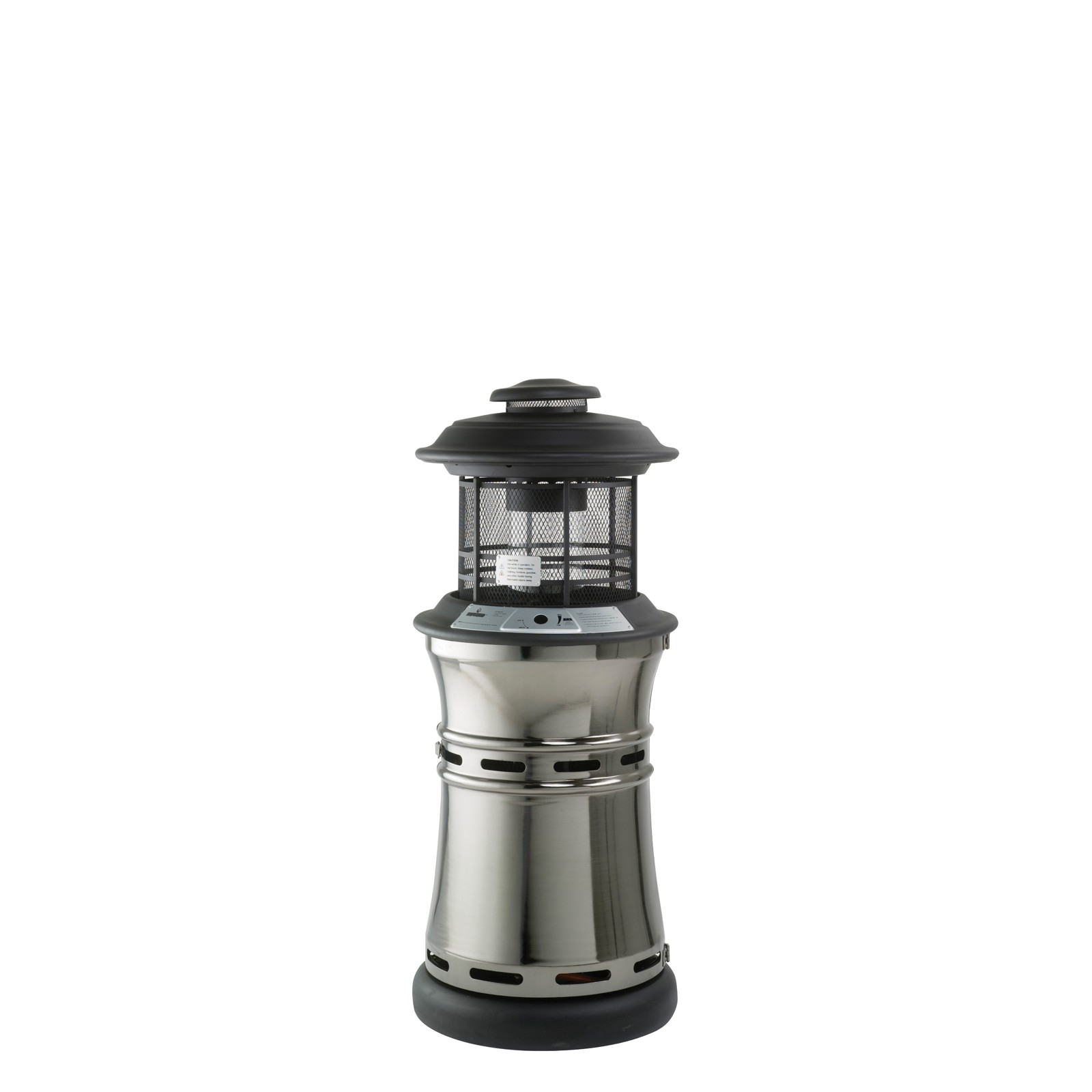 Lifestyle Santorini Gas Flame Patio Heater with sizing 1600 X 1600
