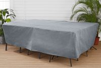 Mainstays Sandell 100 Patio Chat Set Cover In Gray Large within dimensions 3000 X 3000