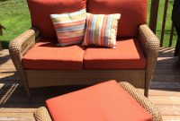 Martha Stewart Charlottetown Patio Collection Love Seat throughout sizing 2448 X 3264