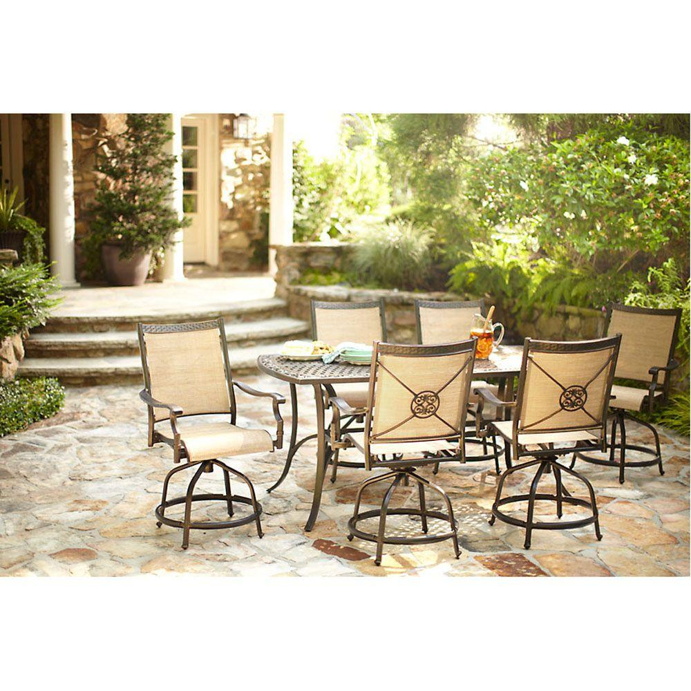 Martha Stewart Living Captiva Ii 7 Piece Patio Dining Set within dimensions 1000 X 1000