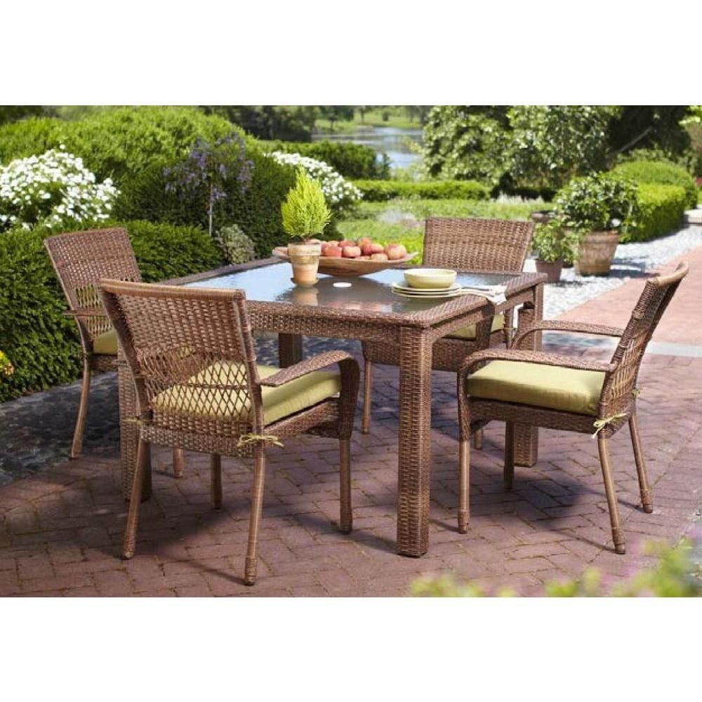 Martha Stewart Living Charlottetown Brown All Weather Wicker throughout dimensions 1000 X 1000