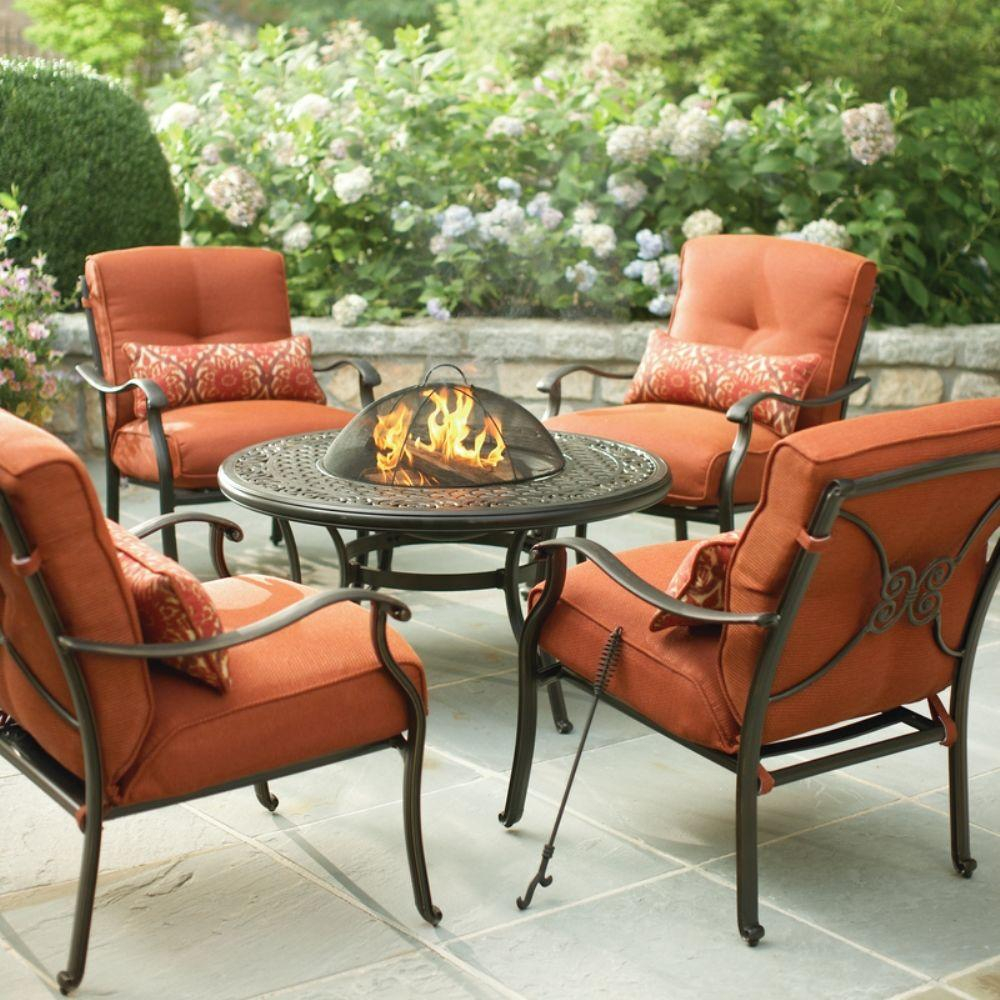 Martha Stewart Living Cold Spring 5 Piece Patio Fire Pit Set inside dimensions 1000 X 1000